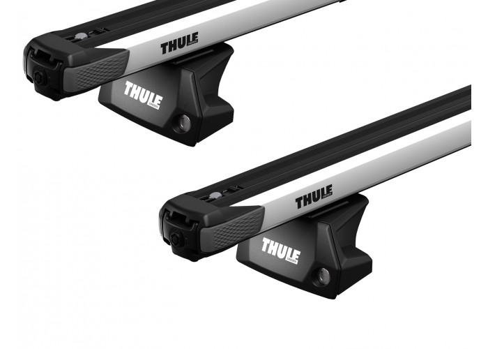 Багажник на интегрированные рейлинги Thule Slidebar для Audi A3/S3/RS3 Sportback (5 door)(mkIII) 2013→