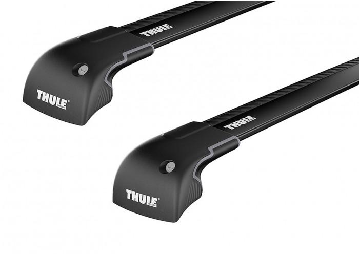 Багажник на интегрированные рейлинги Thule Wingbar Edge Black для Lexus GX (mkII) 2009→