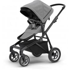 Детская коляска Thule Sleek (Black/Grey Melange)