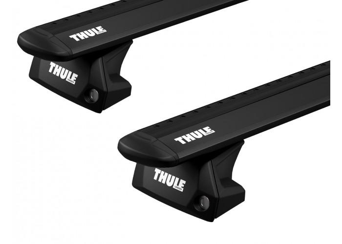 Багажник на интегрированные рейлинги Thule Evo Wingbar Black для Citroen C4 Grand Picasso (mkII) 2014→