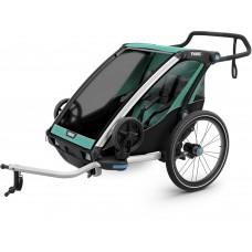 Детская коляска Thule Chariot Lite 2 (Blue Grass-Black)