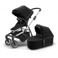 Детская коляска с люлькой Thule Sleek (Midnight Black)