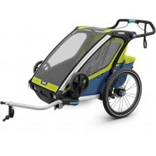 Детская коляска Thule Chariot Sport 2 (Chartreuse-Mykonos)