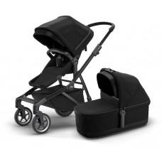 Детская коляска с люлькой Thule Sleek (Black on Black)