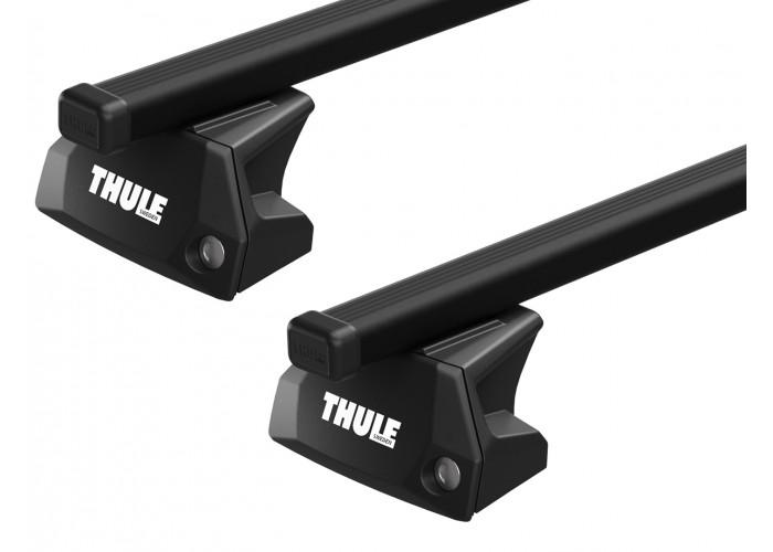 Багажник на интегрированные рейлинги Thule Evo Squarebar для Ford Galaxy (mkIV); S-Max (mkII) 2015→