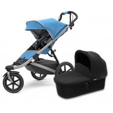 Детская коляска с люлькой Thule Urban Glide 2 (Blue)