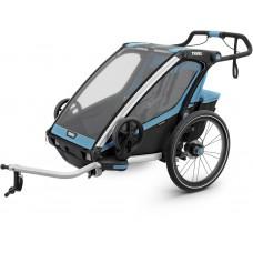 Детская коляска Thule Chariot Sport 2 (Blue-Black)