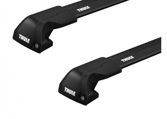 Багажник на интегрированные рейлинги Thule Edge Wingbar Black для BMW X4/X5 (F15; G02; G05) 2014→