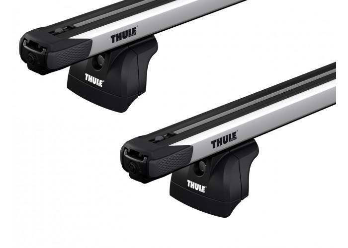 Багажник на интегрированные рейлинги Thule Slidebar для Subaru XV e-boxer (mkII) 2019→